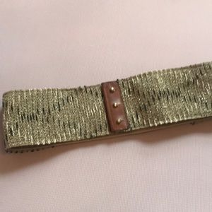 Anthropologie elastic belt